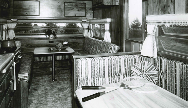 Historic Trailer Interior